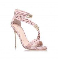 glisten pink high heel sandals from Carvela Kurt Geiger