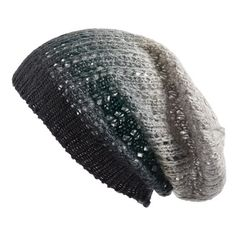 Women's Michael Stars Knit Slouch Beanie ($28) ❤ liked on Polyvore featuring accessories, hats, beanies, hair accessories, knit beanie, slouchy knit hat, slouch hat, michael stars and saggy beanie