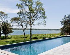 Shelter Island Beach House - beach-style - Pool - New York - Wettling Architects