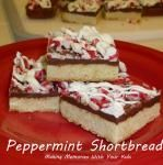 Peppermint Shortbread - This One's a Keeper!