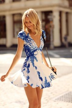 Wearing: Stylestalker 'Blue Me Away' dress