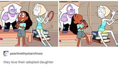 Loll the look on Pearl's face when Connie faces her