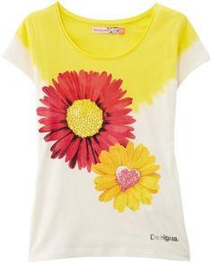Desigual azobi - t-shirt - fille sur shopstyle.fr