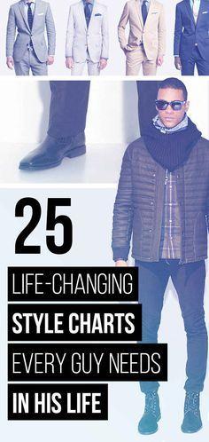25 Gráficas estilo que cambia la vida Cada individuo necesita en este momento