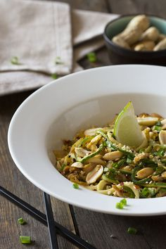 Your favorite Asian dish is now low carb friendly - and super easy to make too! You'll be surprised how much flavor is packed into this simple dish and how quickly your family falls in love with it! This delicious & healthy Chicken Peanut Pad Thai is low carb, gluten free, grain free & paleo friendly. It's perfect!