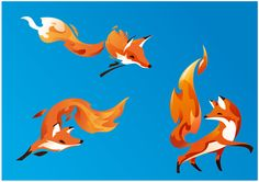 Nostalgic Firefox Brand Redesign for Firefox OS by Wolf Olins