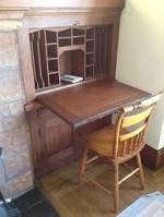 craftsman fireplace built in secretary desk - Google Search
