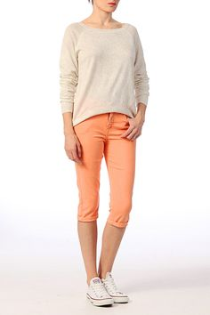 B.young Pantalon 3/4 en coton Angla sur shopstyle.fr