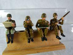 4 Umbau Massefiguren aufgesessen für Fahrzeuge - mimikry Tarnung - Lot9 | eBay