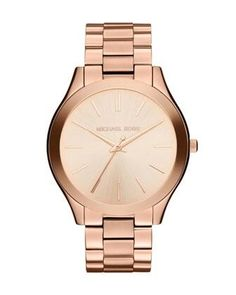 Rose Golden Michael Kors Watch