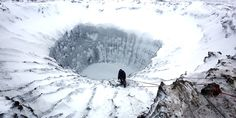 Scientists were baffled last July when they discovered three giant holes in the ground in the Yamal Peninsula in northern Siberia. - from huffingtonpost.com