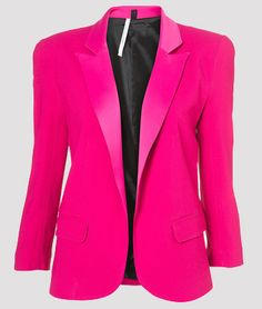 Gallery For > Hot Pink Blazers For Women