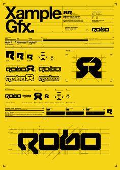 Yellow, vector, tech, type, breakdown