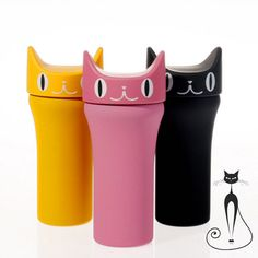 This cute and sleek Cat Whiskers Thermo Bottlewill make you stand out among others! With its inbuilt insulation and stainless steel…