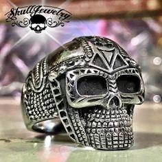 'Mr. Roboto' Skull Ring (179)