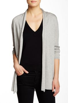 Draped Silk Blend Cardigan by In Cashmere on @nordstrom_rack