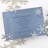 Winter wonderland invite