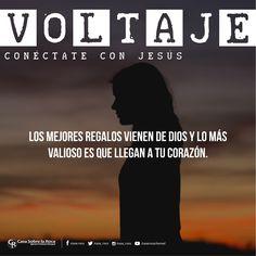 Los mejores regalos vienen de Dios y lo más valioso es que llegan a tu corazón. #ConéctateConJesús http://devocional.casaroca.org/jv/07jul