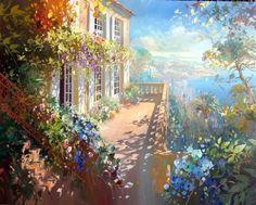 Солнечная живопись Laurent Parcelier (19 картин) » RadioNetPlus.ru развлекательный портал