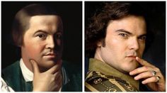 Has Paul Revere Traveled through time and is currently Jack Black?