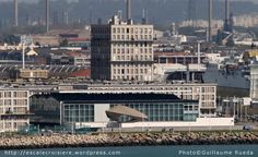 Le Havre - Gare maritime - Port of Call - A voir et à faire en escale. Things to see and to do in Le Havre's call Unusual Buildings, Le Havre, Paris Skyline, France, Architecture, Travel, Bouldering, Normandie, Landscape