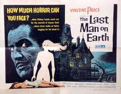 The Last Man on Earth (Italian: L'ultimo uomo della Terra) is a 1964 science fiction horror film based upon the Richard Matheson 1954 novel starring the Legendary Vincent Price.