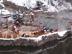 Strawberry Park Hot Springs Steamboat Springs, Colorado
