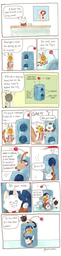 Breaking Cat News Comic Strip, October 30, 2016     on GoComics.com