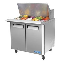 Turbo Air MST M Series Refrigerated Salad Sandwich Prep Table - Cold sandwich prep table