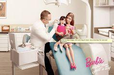 Print ad: Barbie: Dentist
