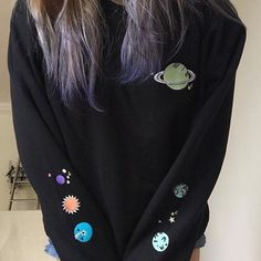 Solar Embroidery jumper