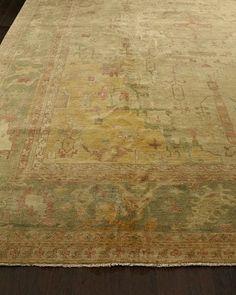 Empire Oushak Rug, 4' x 6'