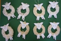 Christmas / Tutorial / Wool-wrapped lamb (Kid)
