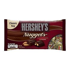 Hershey's Nuggets Special Dark Chocolate with Almonds, 12-Ounce Bags (Pack of 4) - http://bestchocolateshop.com/hersheys-nuggets-special-dark-chocolate-with-almonds-12-ounce-bags-pack-of-4/