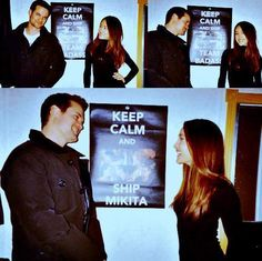 Shane West / Maggie Q - Even they Ship Mikita <3