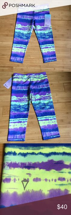 Selling this NWT ivivva rhythmic crop leggings PRICE FIRM on Poshmark! My username is: skateswingswim. #shopmycloset #poshmark #fashion #shopping #style #forsale #Ivivva #Other