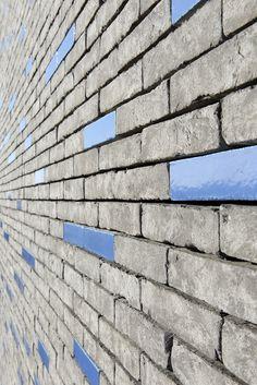 The brilliance of brick in Sevran, France