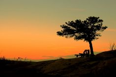 Sunset At Bear Mountain, NY., Photo By Bo Yu
