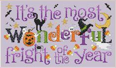 Sue Hillis Designs: Most Wonderful Fright