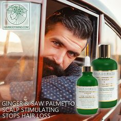 HAIR GROWTH Scalp Botanical Stimulating Formula with Saw Palmetto stops hair loss,promotes hair growth,fights Alopecia & DHT.💚💚💚💚EXTRA STRENGTH 💛 FIGHTS HAIR LOSS💛STOPS SMELLY SCALP💛NATURAL DHT BLOCKER💛ALOPECIA PREVENTION 💛Strongest known botanical hair-loss fighting bio-active components: Zingiberene, which can contribute up to 30% of the essential oil in Ginger rhizomes; and Curcumin from Turmeric Essential Oil 🌿💛🌿💚 VEGAN ORGANIC NATURAL SLS-FREE 💚 Check out our website to…