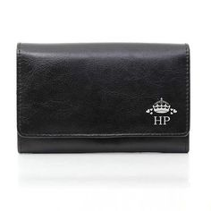 Personalised Crown black Purse Personalise this genuine leather black ladies purse with Crown design with 3 characters initials uppercase Purse Handbags Online, Handbags On Sale, Luxury Handbags, Purses And Handbags, Great Mothers Day Gifts, Cute Purses, Black Purses, Purses For Sale, Leather Purses