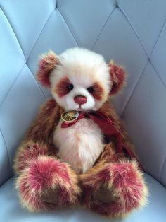 Charlie Bears Sugarplum Panda - Xmas QVC Exclusive in Dolls & Bears, Bears, Artist   eBay