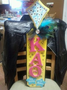 paddle! Kappa Alpha Theta
