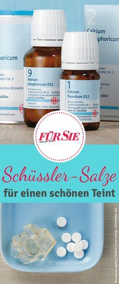 Schüßler salts for the beauty- Schüßler-Salze für die Schönheit Does it Use the Power of Nature: The Mineral Salt Therapy of Dr. Schüßler nourishes and pampers the skin, radiates the complexion and removes impurities. Beauty Secrets, Beauty Hacks, Face Care, Skin Care, Anaerobic Exercise, Mineral Salt, Agility Training, Face Massage, Yoga For Flexibility