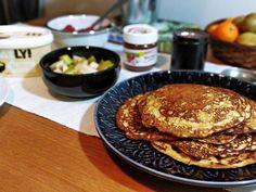 banaaniletut (3) Pancakes, Mango, Breakfast, Food, Manga, Morning Coffee, Essen, Pancake, Meals