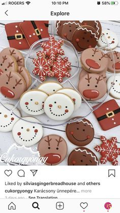 Christmas themed cookies - Holiday wreaths christmas,Holiday crafts for kids to make,Holiday cookies christmas, Cute Christmas Cookies, Christmas Snacks, Iced Cookies, Christmas Cooking, Christmas Goodies, Holiday Cookies, Christmas Diy, Decorated Christmas Cookies, Decorated Cookies