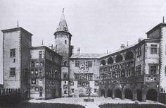 Piedmont pavilion court at 1911 Rome expo