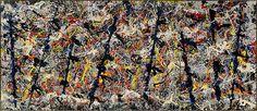 Blue poles - Jackson Pollock.