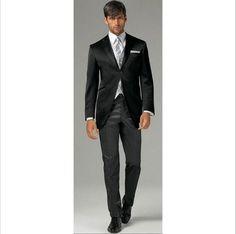 The Groom Suits Autumn/Spring Winter Standard Plus Size Black Wedding Men Suit Modern Hote Tuxedos Gentleman Suit For Men Suit Sale From Baixinqingshop, $83.42| Dhgate.Com