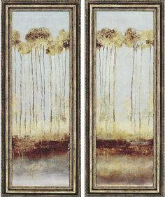 Attractive Trees Framed Wall Art   Set Of 2   Art Prints   Wall Decor   Home